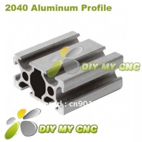 5pcs*1000mm 2040 Aluminum Profile 20*40 Aluminum Extrusion for CNC ROUTER(China (Mainland))