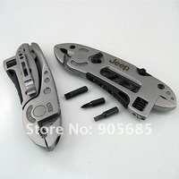 Best Offer! Multi-Tool Pliers 420 Steel Multifunction Outdoor Survival Knife With And Spanner Knives