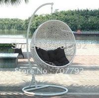 2012 Hot sale SG-JHA-178D Rattan garden swing chair