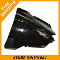 New Black Motorcycle Windshield Trim Shadow For YAMAHA R6 08-09 Windscreen Free Shipping [CK506]