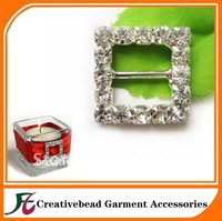 free shipping ,small square rhinestone buckle for decoration, good quality, fast delivery