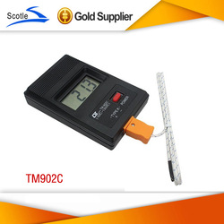 Freeshipping New Arrival TM-902C K Type Thermometer Temperature Meter + Probe(China (Mainland))
