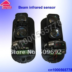 free shipping wireless infrared beam sensor outdoor using two beams 100m(China (Mainland))