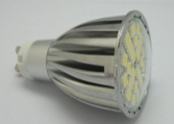 GU10 SMD LED spotlight,24pcs 5050 SMD LED,5W