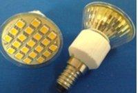 E14 SMD LED spotlight,21pcs 5050 SMD LED,3W