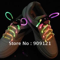 Hot Sale! New Fantastic Athletic Children Ultra Bright LED Colorful Luminescent Shoelace