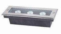 3*1W high power led underground light,DC12V input,IP68,size:120*80*60mm;open hole:115*65mm