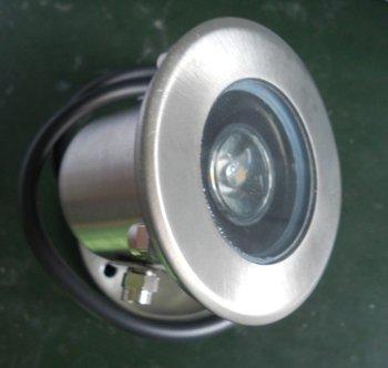 1*1W underwater light IP68;AC/DC12V/24V input;65mm(diameter)