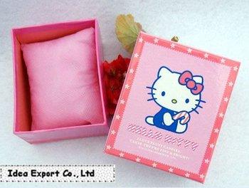 10 pcs/lot Hello Kitty Pink Lovely Watch Box_Gift Box_Watch Box_Watch Accessories_Free Shipping