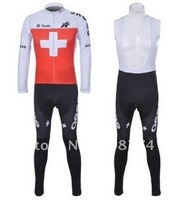 2011 New  Best Selling Winter Fleece/Thermal Cycling Jersey+Bib Pant Set/Bicycle Wear/ Biking Clothing/Cyclegear+Free Ship