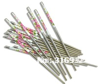 D1 Light  Weight portable metal chinese Stainless Steel Chopsticks