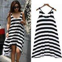 New Arrival Holiday  Casual Dress,Beach Dress,Bikini Wrap,Striped Dress,10pcs/lot,DX017,Free Shipping