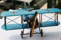 World War II, metal aircraft model/Birthday gifts home furnishings/Photography props