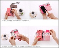 Free Shipping/New Cute crown PU Mobile phone bag & case / card holder / Coin purse / Fashion/Wholesale