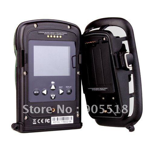 10 Languages Hunting Trail Camera_Night Vision Track Camera_Covert Outdoor Surveillance Camera_Hunting Kit(China (Mainland))