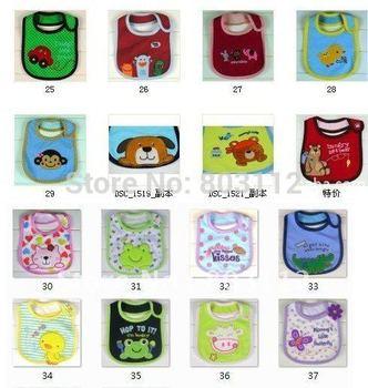 free shipping+30pcs/lot Infant saliva towels/carter's 3-layer Baby bib/Waterproof bib/Mark the new Carter bib/bib