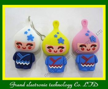 Free Shipping! Lovely onion head usb drive,usb flash drives 1GB 2GB 4GB 8GB 16GB pen drives
