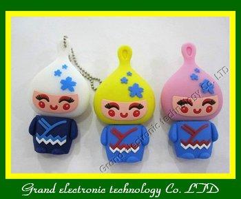 Lovely onion head usb flash drive 2GB 4GB 8GB 16GB 32gb usb key pen drives