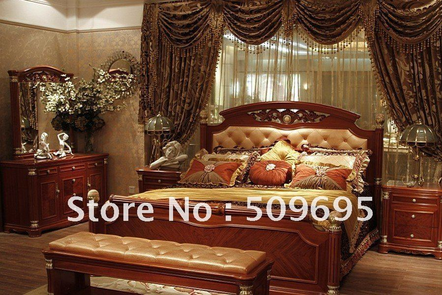 Compare Prices on Solid Wood Classic Bedrooms Set- Online Shopping ...