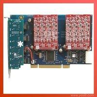 TDM800P 8 Ports 8FXO Asterisk card VoIP IP PBX