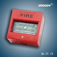 FIRE break glass button