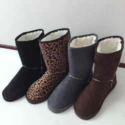 2013 HOT ! Women&#39;s Winter Snow boots for Lady &amp; Gray,Coffe,Brown,,Black,Beige,Pink,Blue,rose red(China (Mainland))
