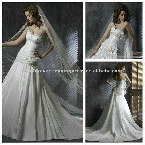 Vestido de noiva 2012 uma linha do marfim vestidos de casamento baratos UK vestidos de noiva personalizado leopardo karen corset(China (Mainland))