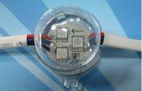 DC12V TSL3001 pixel module, with 3pcs 5050 RGB SMD LED,30mm diameter,20pcs a string