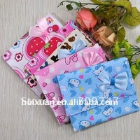 High Quality bowknot sanitary napkin bag pouch sanitary napkin holder