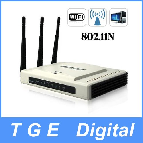 Free Shipping! 802.11N Wireless Router - 300Mbps (3 Antennas Edition)(China (Mainland))