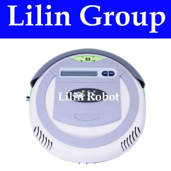 (For EU Buyer) 3 In 1 Multifunctional Floor Cleaning Robot  (Auto Vacuum,Sterilize,Air Flavor),LCD Screen