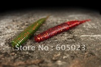 Free shipping high quality soft bait 50sets/lot (1set=6pcs) 12cm+5colors+ worm with tail fishing lures