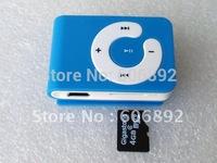 Fastest shipping  via EMS or DHL 10pcs/lot New mini Mp3 player C keys card clip Support 1-8Gb Micro TF card