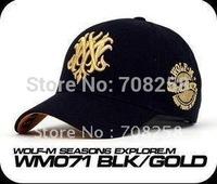 Hot-selling! 3 Colors 2014 Fashion men & women Wolf Baseball Cap hip-hop adult cotton sports cap cotton hat Casual Snapback  209