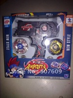 Beyblade Exclusive Metal Fusion Toy A Set   Beyblade set  color: black  with color box