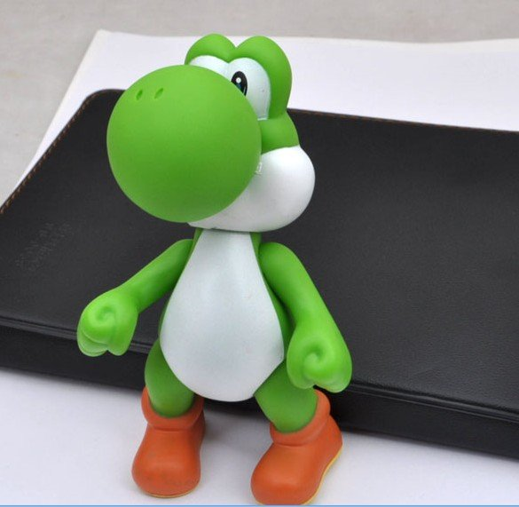 2012 Hot Sale!!!Wholesale Fashion Plastic Cute PVC Sucker Green Dinosaur Doll Mobile Phone Sticker(China (Mainland))