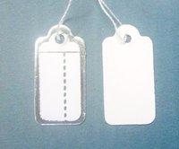 Free Shipping 500 pcs Label Tie price Tag Jewellery Display 14mmX26mm LA1*