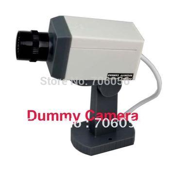 free shipping 1 x Fake Dummy Security CCTV Camera Detect Motion  bI01