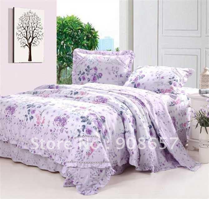 Alfa img - Showing > Lavender Floral Bedding