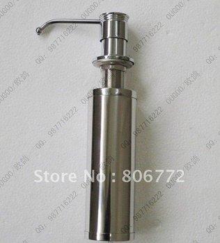 Copper kitchen sink soap dispenser bottle of the first stainless steel sink basin kitchen accessories detergent bottles