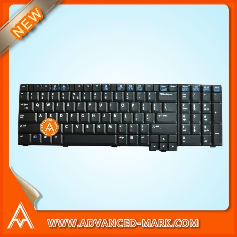 New & One Year Warranty ! Replace For HP Compaq 8730W Laptop Keyboard ,P/N:K031202E1 / PK13ZKF3F00, US Layout,Black.(China (Mainland))