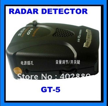 Valentine one radar detector GT-5+free shipping(China (Mainland))