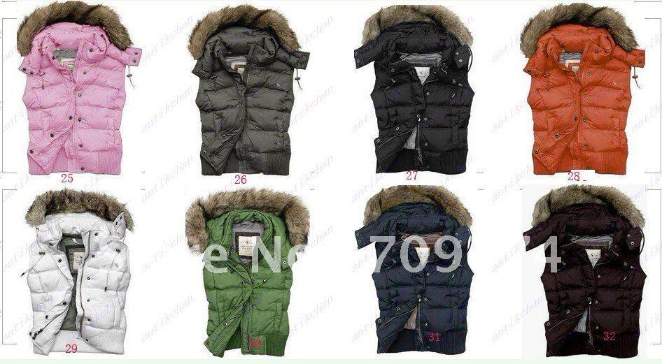 Brand New Women 39s Down Vest Lady Down Vests Down Fur Jackets Coats
