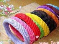 2014 Colorful cute Women hair ring for Kids hair rope & Color random