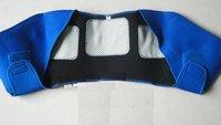 free shipping tourmaline Automatic heat shoulder neck massage massager Far infrared