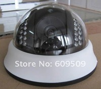 "Free Shipping 1/4"" Sharp 420TVL Brand New 22 LED Dome IR Night Vision Security  CCTV Camera 100% Warranty 225X"