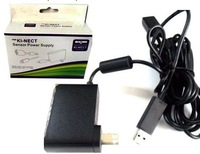 kinect Sensor power adapter for xbox 360, for xbox 360 kinect sensor charger, retail packing