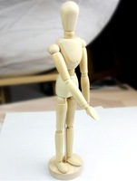 Free Shipping, 12 inches wooden human manikin toy,wooden human model for manikin 4pcs/lot