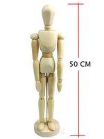 free shipping! HOT Christmas Gift of man&woman Wooden Human Kid`s Educational Toy,wooden human manikin (20 inch)