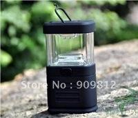 Free Shipping 11LED Tent light, Camping Light, Small lantern, Small flashlight, black 120g  50pcs/lot